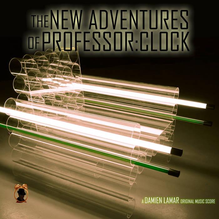 the new adventures of professorclock cover art