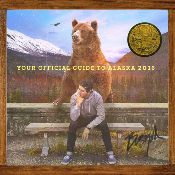 Your Official Guide to Alaska 2016 cover art