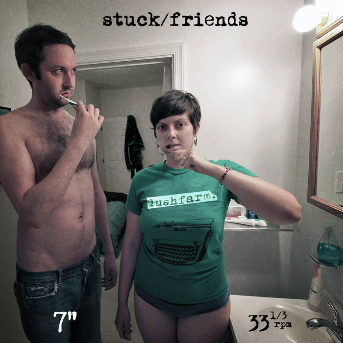 Stuck/Friends (2014) cover art