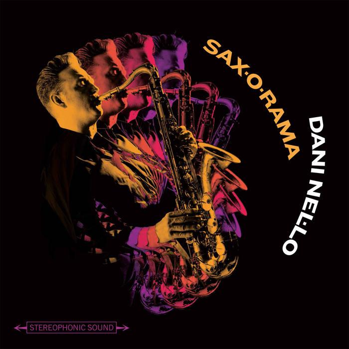 Sax-o-rama cover art