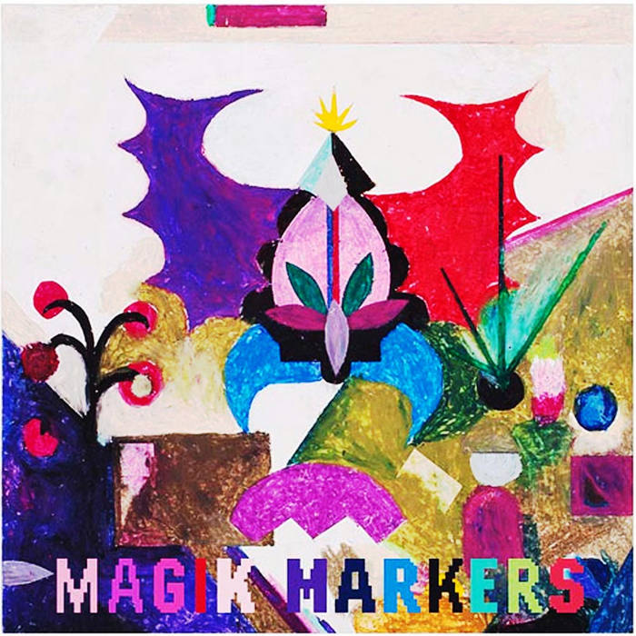 "Magik Markers ""Searchin' Searchin' for that New Sound cover art"