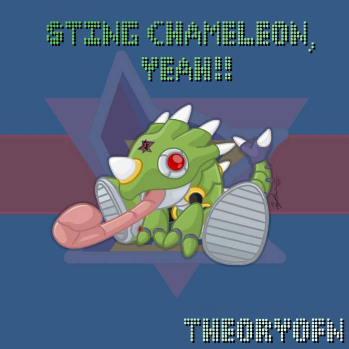 Sting Chameleon, Yeah!! cover art