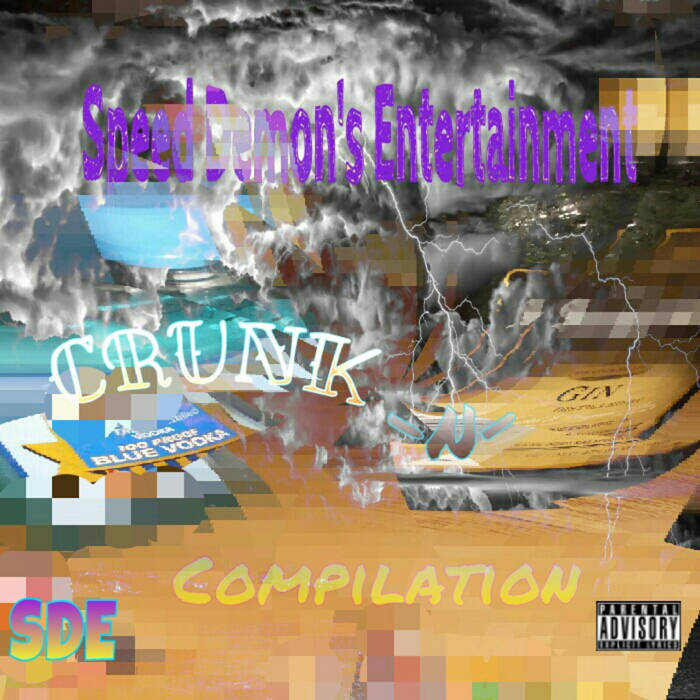 Crunk N' Gin #SDE Compilation (Unreleased Originals) cover art
