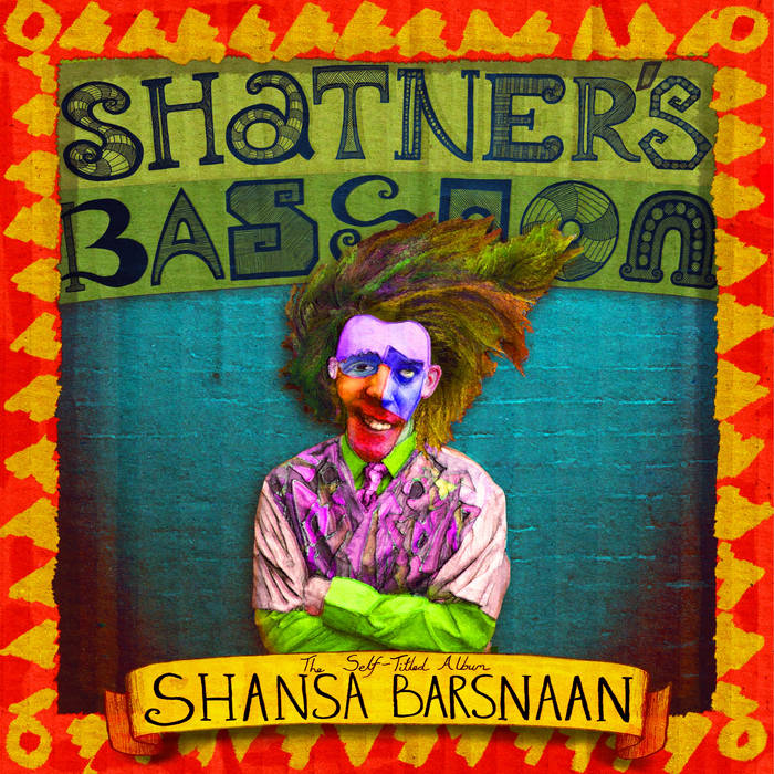 The Self Titled Album Shansa Barsnaan cover art