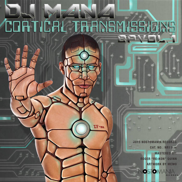 Cortical Transmissions Vol. 1 - EP cover art