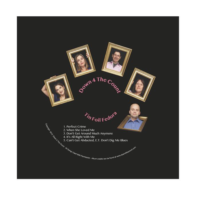 Tin Foil Fedora cover art
