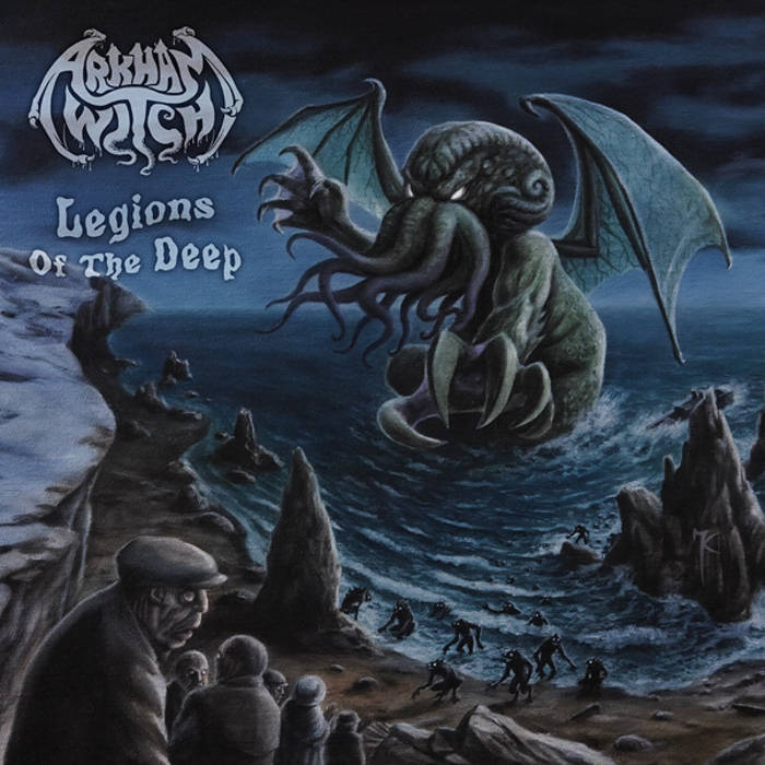"""ARKHAM WITCH """"Legions of the Deep"""" cover art"""
