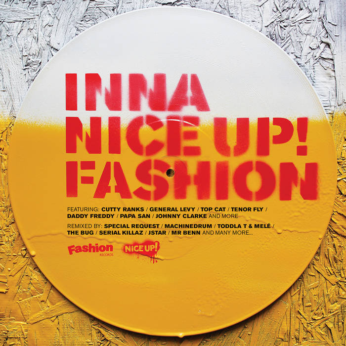 Inna NICE UP! Fashion cover art