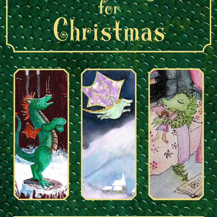 Three Dragons for Christmas cover art