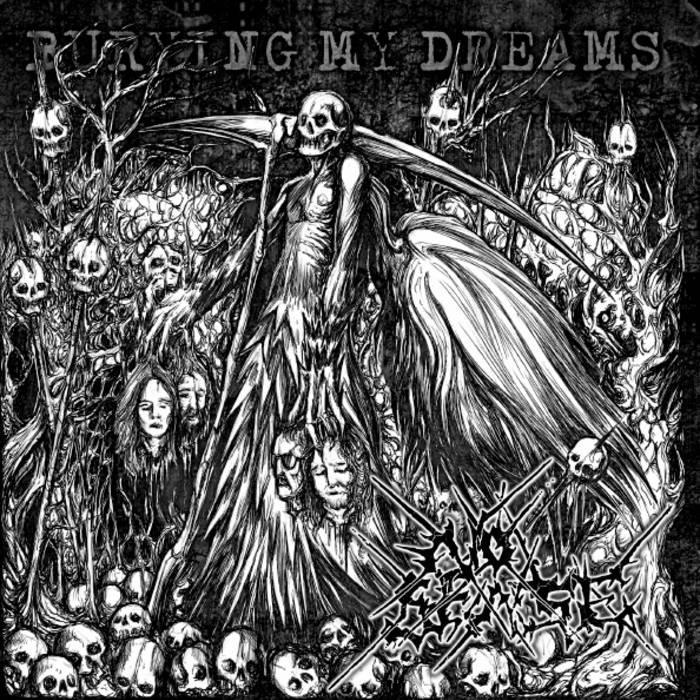"Burying my Dreams - 7"" Ep cover art"