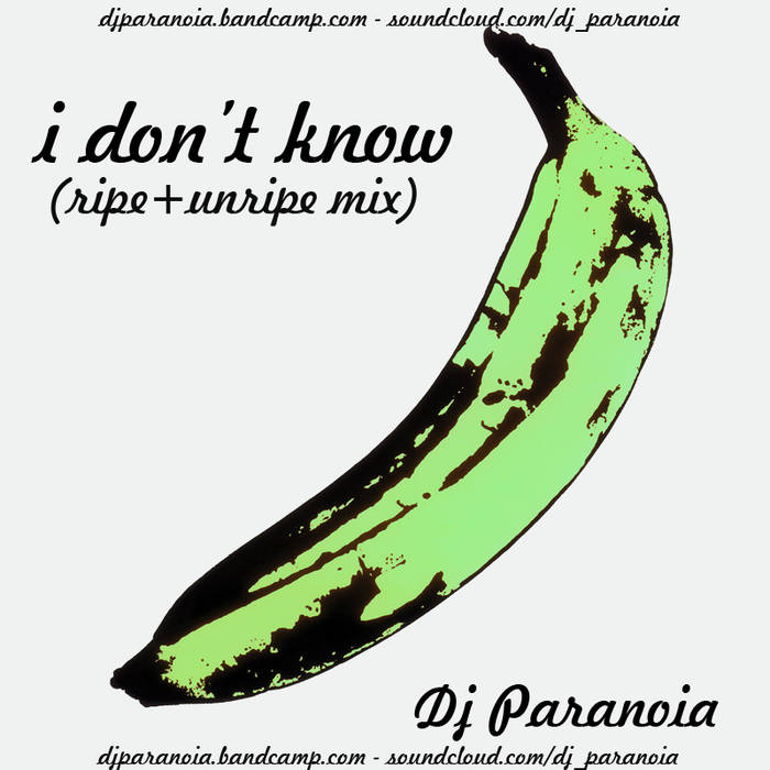 I don't know (ripe+unripe mix) cover art
