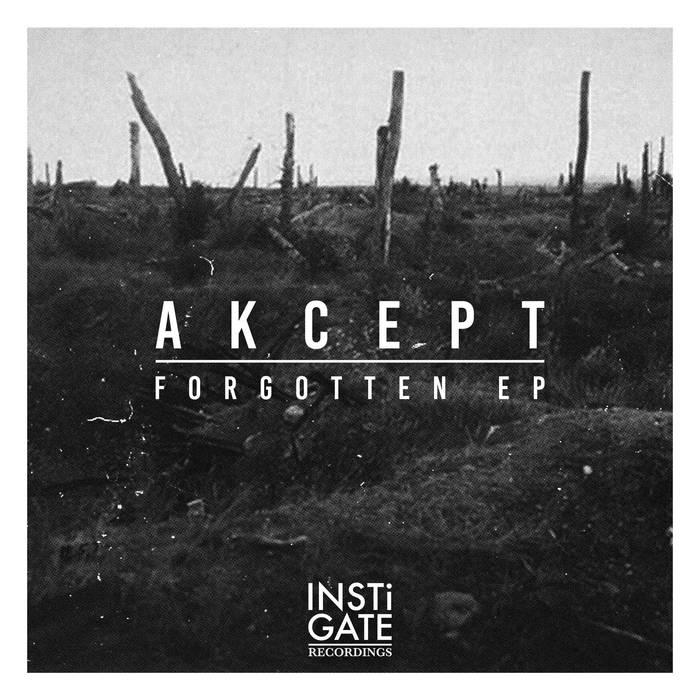 Akcept - Forgotten EP cover art
