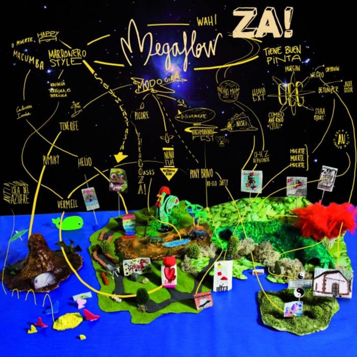 ZA! - MEGAFLOW cover art