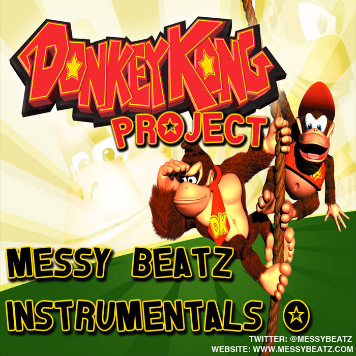MESSY BEATZ - DONKEY KONG PROJECT cover art