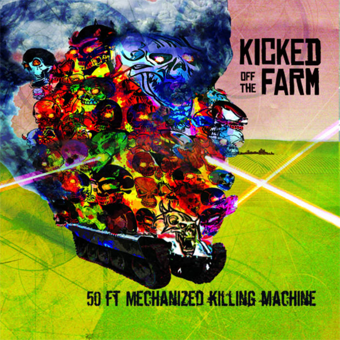 50 ft Mechanized Killing Machine cover art