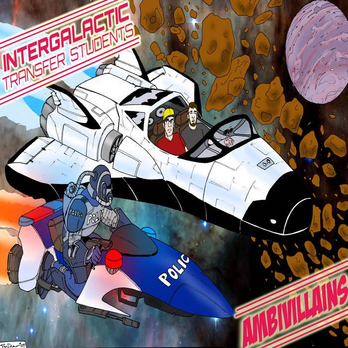 Intergalactic Transfer Students cover art