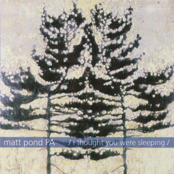 FT37 - Matt Pond PA 'I Thought You Were Sleeping' EP