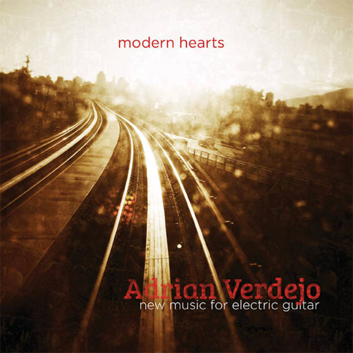 Modern Hearts - New Music for Electric Guitar cover art