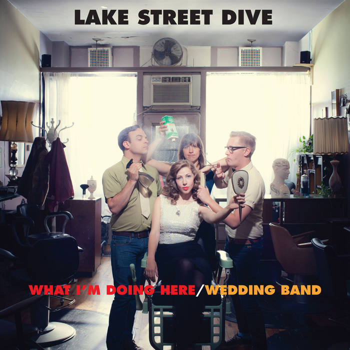 What I'm Doing Here/Wedding Band cover art