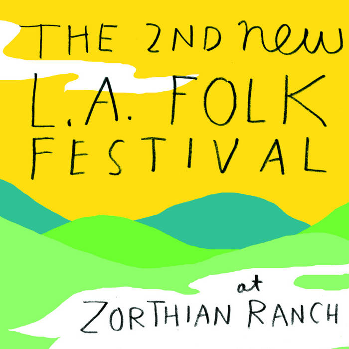 The 2nd New L.A. Folk Festival cover art