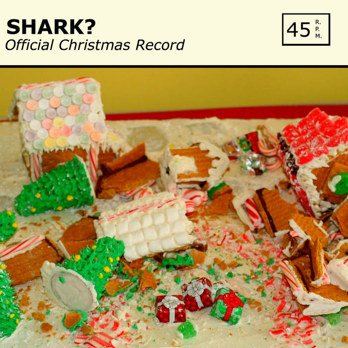 Official Christmas Record cover art
