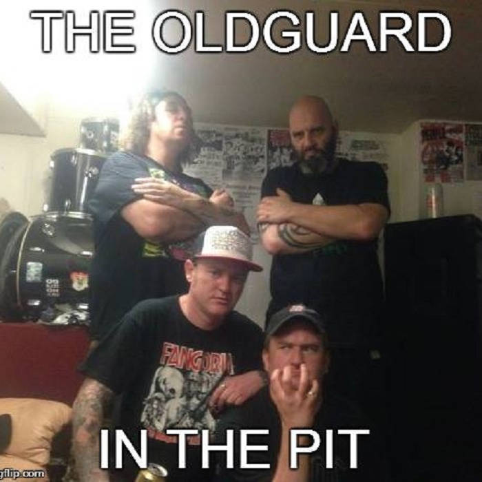 The OldGuard In The Pit cover art