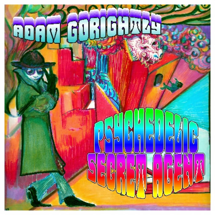 Psychedelic Secret Agent cover art