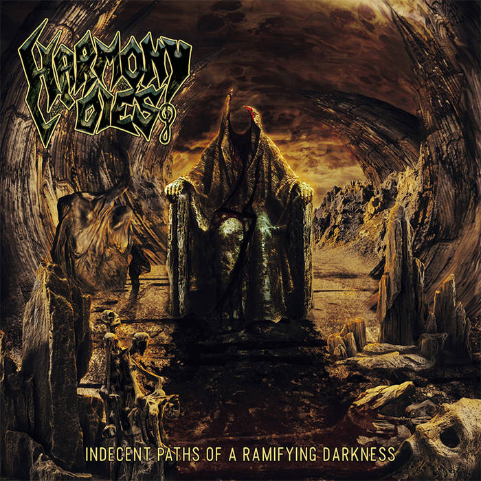 Indecent Paths Of A Ramifying Darkness cover art