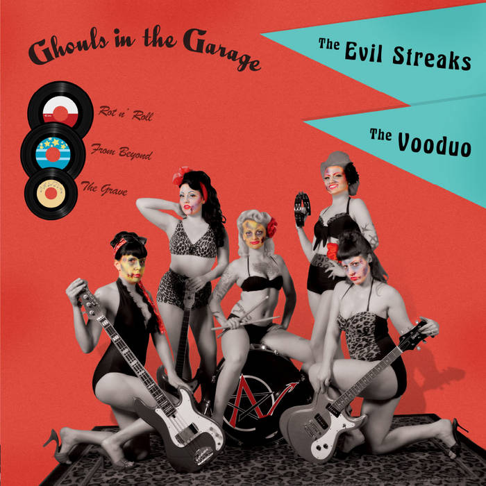 Ghouls in the Garage cover art