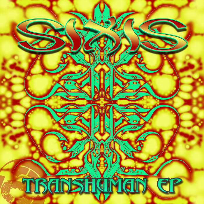 SUB032 SIXIS - Transhuman EP (Psybient Glitch-Hop) cover art