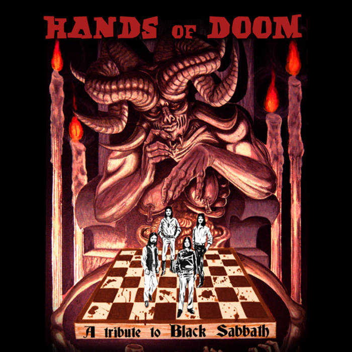Hands of Doom, a tribute to Black Sabbath cover art