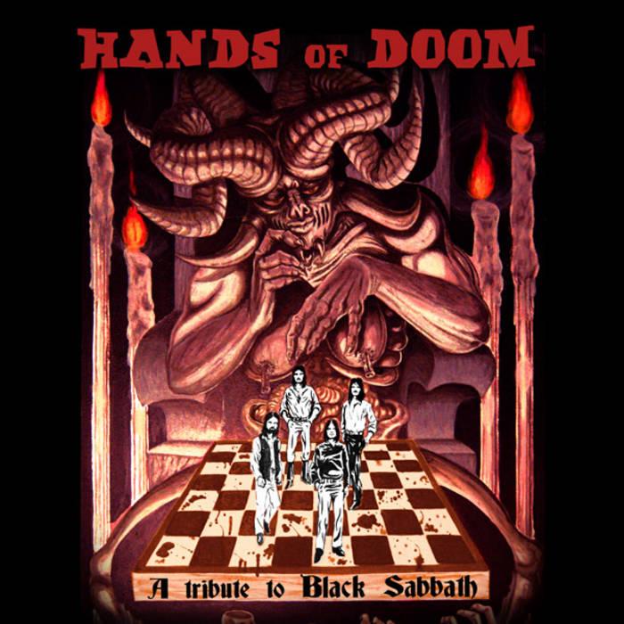 Hands of Doom, a tribute to Black Sabbath cover art