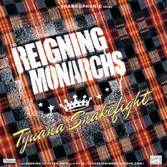 "The Reigning Monarchs/Laramie Dean Split 7"" cover art"
