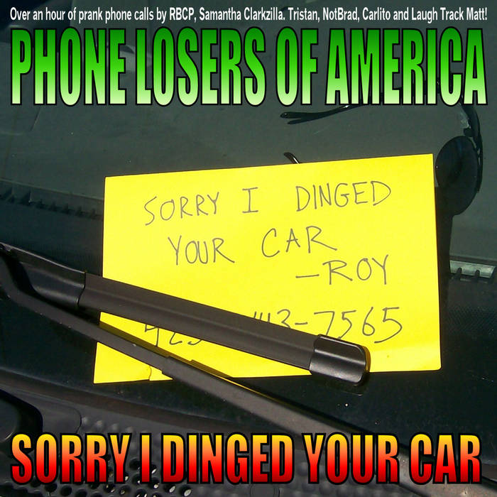 Sorry I Dinged Your Car cover art