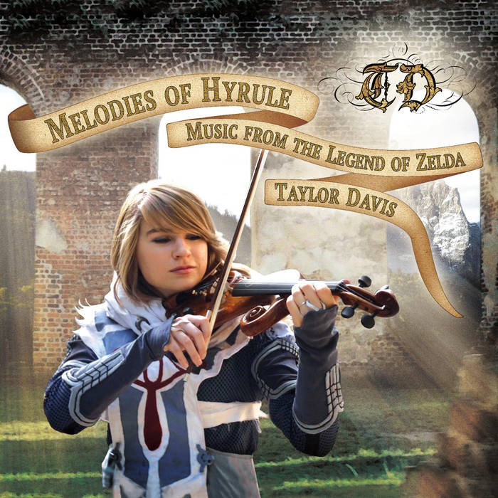 "Melodies of Hyrule: Music from ""The Legend of Zelda"" cover art"