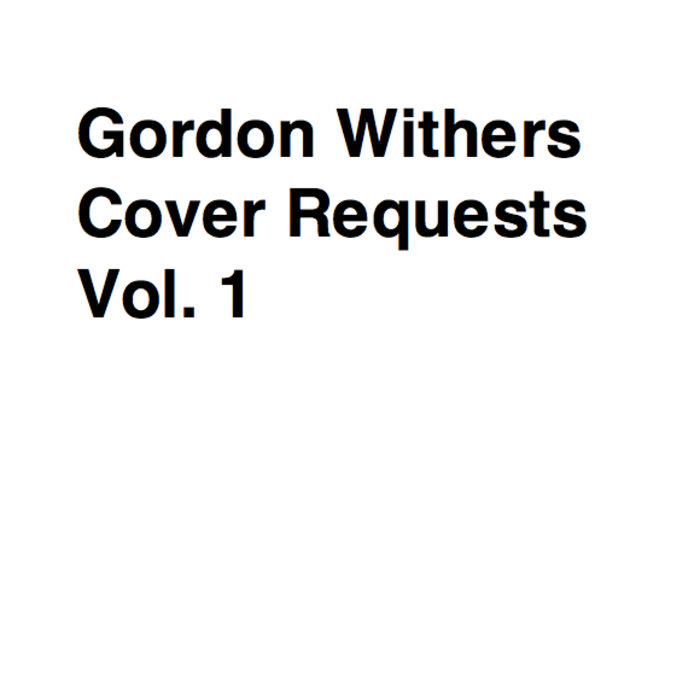 Cover Requests Vol. 1 cover art