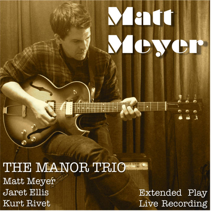 The Manor Trio - EP cover art