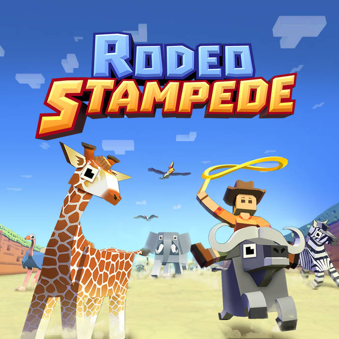 Rodeo Stampede Soundtrack cover art