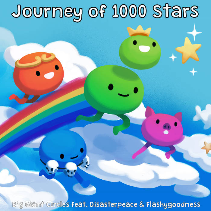 Journey of 1000 Stars OST cover art