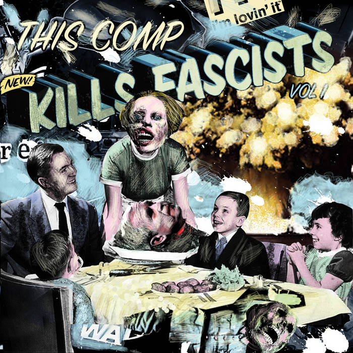 This Comp Kills Fascists, Vol. 1 cover art