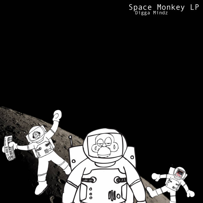 Space Monkey LP cover art