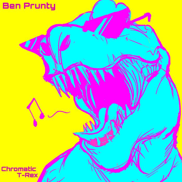 Chromatic T-Rex cover art