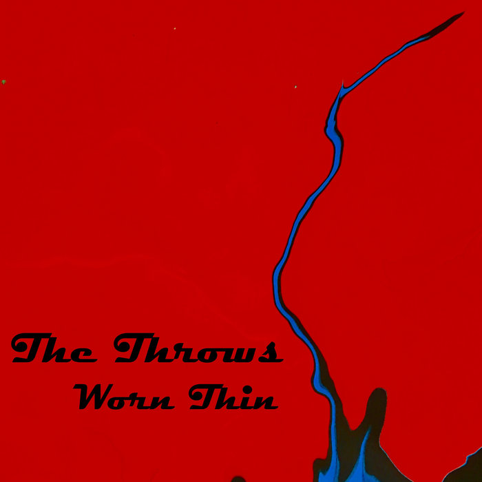 The Throws - worn thin cover art
