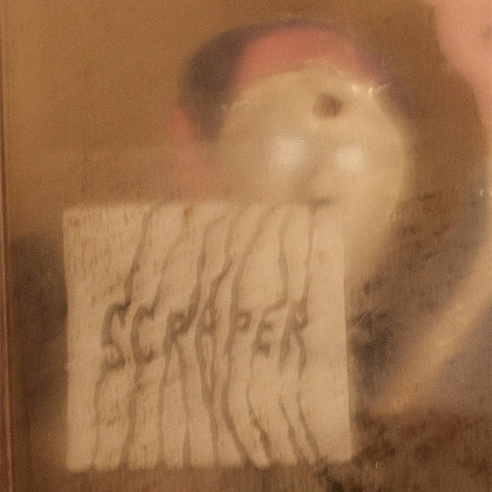 """SCRAPER """"S/T"""" LP cover art"""