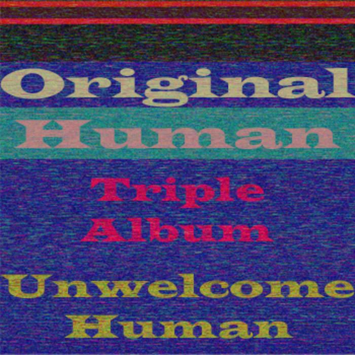 Original Human Triple Album cover art