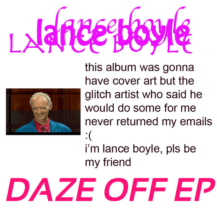 daze off EP cover art