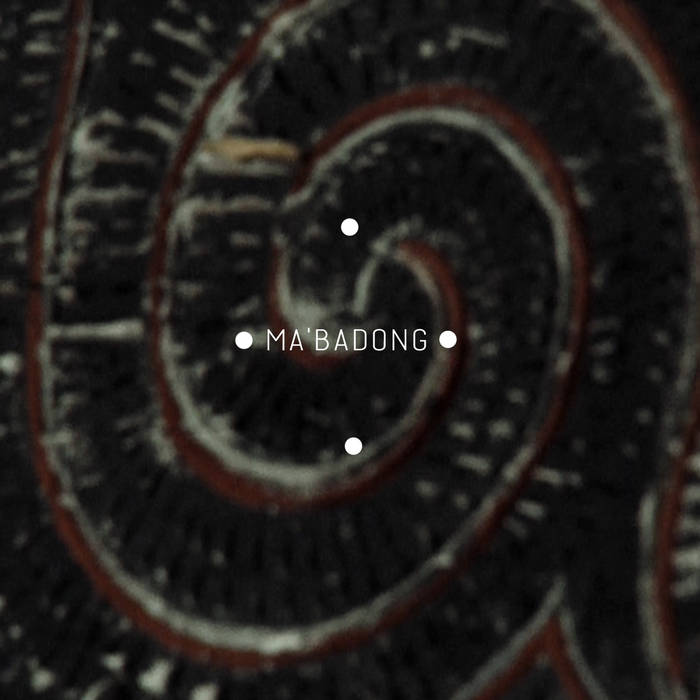 MA'BADONG • dance of Death from the Toraja land cover art