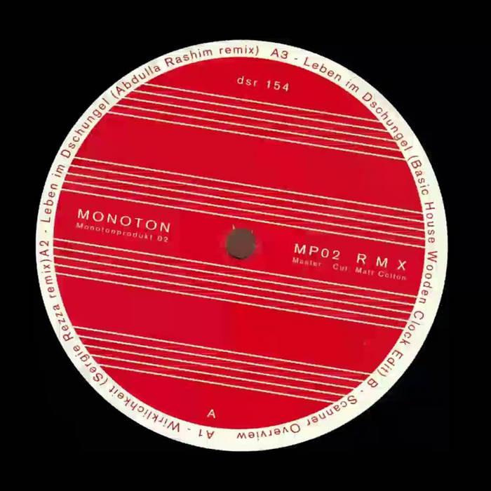 Monoton - MP02 R M X cover art