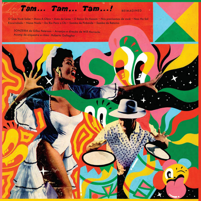 Tam Tam Tam Reimagined cover art