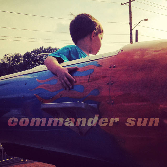 Commander Sun EP cover art